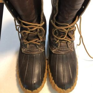 LL Bean Maine Hunting Boots, Size 4